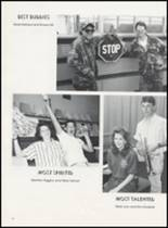 1989 Minco High School Yearbook Page 100 & 101