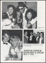 1989 Minco High School Yearbook Page 106 & 107