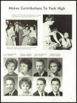 1964 York High School Yearbook Page 28 & 29