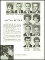 1964 York High School Yearbook Page 30 & 31