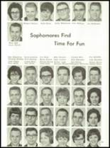 1964 York High School Yearbook Page 98 & 99