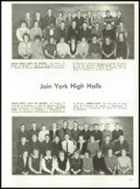 1964 York High School Yearbook Page 104 & 105