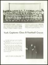 1964 York High School Yearbook Page 108 & 109