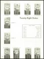 1964 York High School Yearbook Page 112 & 113