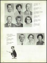 1969 Jay High School Yearbook Page 18 & 19