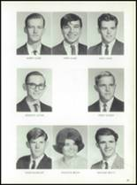 1969 Jay High School Yearbook Page 22 & 23