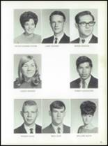 1969 Jay High School Yearbook Page 26 & 27