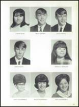 1969 Jay High School Yearbook Page 30 & 31