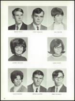 1969 Jay High School Yearbook Page 32 & 33