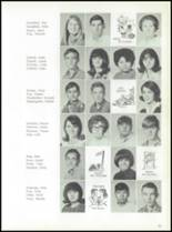 1969 Jay High School Yearbook Page 34 & 35
