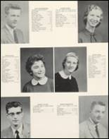 1959 Dumont High School Yearbook Page 20 & 21