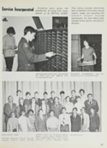 1972 Lane Technical High School Yearbook Page 90 & 91