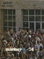 1974 Yearbook Marian Catholic High School