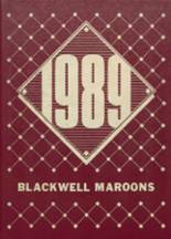 1989 Yearbook Blackwell High School