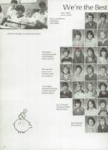 1983 Clyde High School Yearbook Page 22 & 23