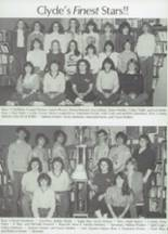 1983 Clyde High School Yearbook Page 38 & 39
