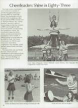 1983 Clyde High School Yearbook Page 42 & 43
