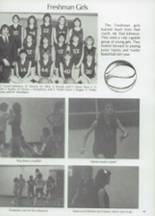 1983 Clyde High School Yearbook Page 82 & 83