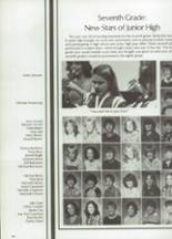 1983 Clyde High School Yearbook Page 98 & 99