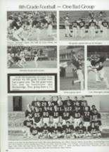 1983 Clyde High School Yearbook Page 110 & 111