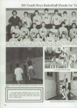 1983 Clyde High School Yearbook Page 112 & 113