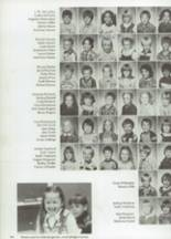 1983 Clyde High School Yearbook Page 128 & 129