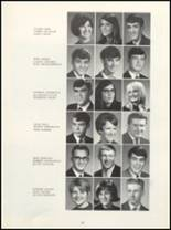 1968 Muscatine High School Yearbook Page 34 & 35