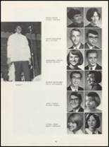 1968 Muscatine High School Yearbook Page 46 & 47