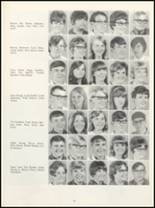 1968 Muscatine High School Yearbook Page 66 & 67