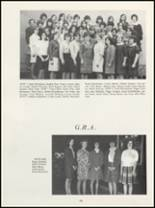 1968 Muscatine High School Yearbook Page 128 & 129