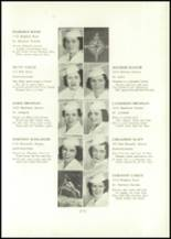 1938 Annunciation High School Yearbook Page 20 & 21