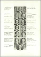 1938 Annunciation High School Yearbook Page 32 & 33