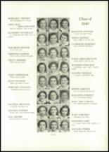 1938 Annunciation High School Yearbook Page 36 & 37