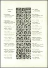 1938 Annunciation High School Yearbook Page 38 & 39