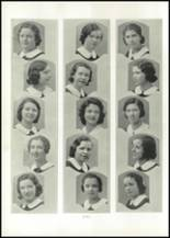 1938 Annunciation High School Yearbook Page 56 & 57