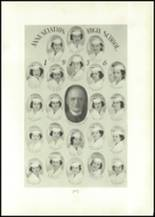 1938 Annunciation High School Yearbook Page 62 & 63