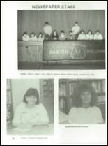 1988 Baxter High School Yearbook Page 82 & 83