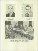 1955 Lake Linden Hubbell High School Yearbook Page 12 & 13