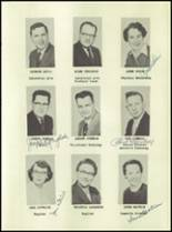 1955 Lake Linden Hubbell High School Yearbook Page 14 & 15