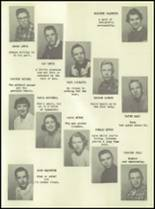 1955 Lake Linden Hubbell High School Yearbook Page 42 & 43
