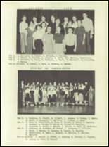1955 Lake Linden Hubbell High School Yearbook Page 86 & 87