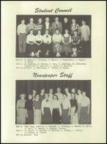 1955 Lake Linden Hubbell High School Yearbook Page 90 & 91