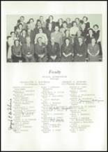 1950 East High School Yearbook Page 10 & 11