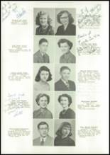 1950 East High School Yearbook Page 16 & 17
