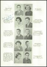 1950 East High School Yearbook Page 18 & 19