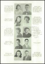 1950 East High School Yearbook Page 20 & 21