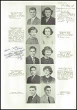 1950 East High School Yearbook Page 22 & 23