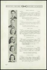 1940 Mauch Chunk Junior-Senior High School Yearbook Page 10 & 11