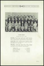 1940 Mauch Chunk Junior-Senior High School Yearbook Page 16 & 17