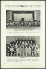 1940 Mauch Chunk Junior-Senior High School Yearbook Page 24 & 25